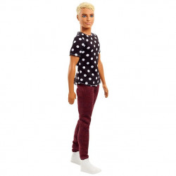BARBIE, KEN FASHIONITAS 1 - BLACK & WHITE