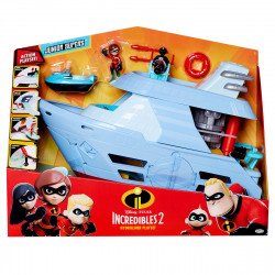 Incredibles 2 - Hydrofoil båt set