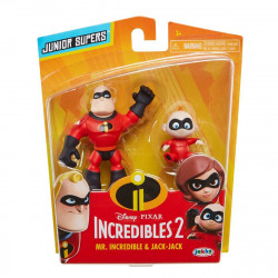 Incredibles 2 - 2-pack figurer 8cm