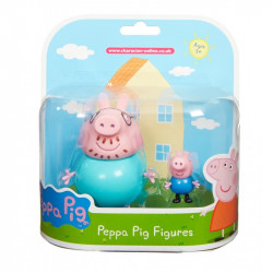 Peppe Pig Twin Pack Mummy or Daddy Pig Ass