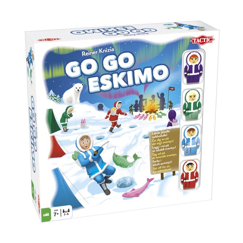 Go Go Eskimo (FI, SE, NO, DK, IS,UK)