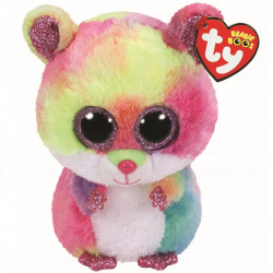 TY Beanie Boos RODNEY - multicolored hamster reg