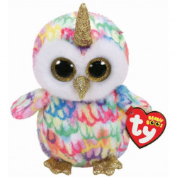 TY Beanie Boos ENCHANTED - owl with horn reg