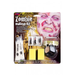 Zombie Make up kitt m tänder