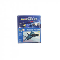 Model Set F-14A Black Tomcat 1:144