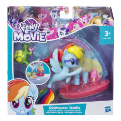 MPL The Movie underwater scene Rainbow Dash