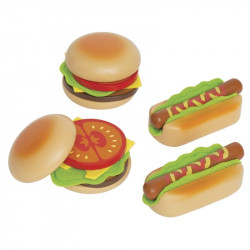 Hamburgers and Hotdogs