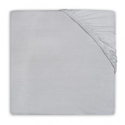 Fitted Sheet Jersey 60x120cm Grey