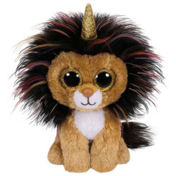 TY Beanie Boos RAMSEY - lion with horn reg
