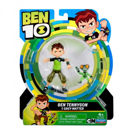 Ben 10 Basic Figures, Ben Tennyson & Grey Matter