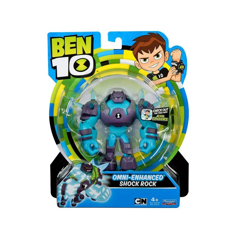Ben 10 Basic Fig Omni-Enhanced, Shock Rock