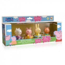Badfigurer 4-pack Peppa Pig