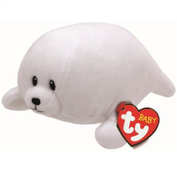 TY Baby Ty TINY - white seal reg