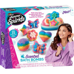 Shimmer n Sparkle Scented Bath Bombs