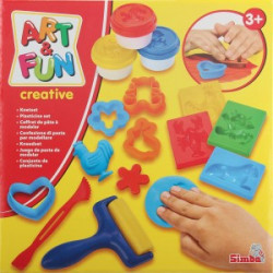 Art & Fun Soft-Dough Set