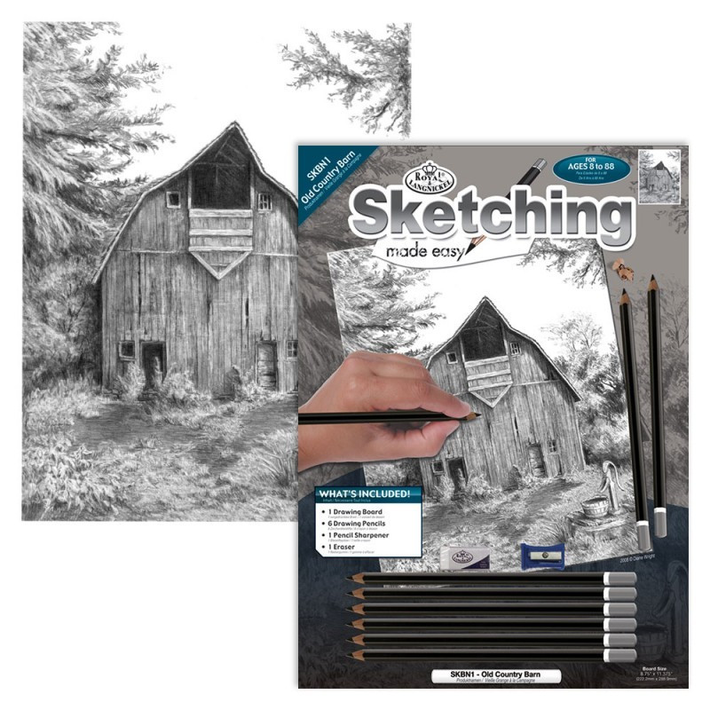 Sketching Made Easy Std Old Country Barn (EN)