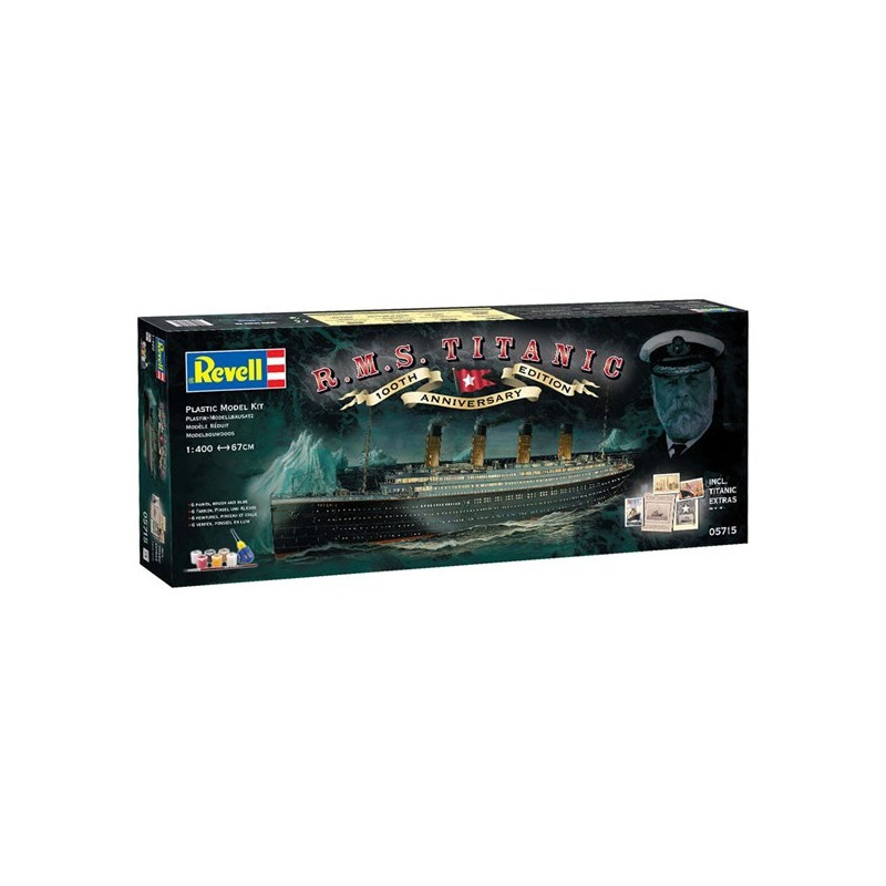 Gift Set 100 Years Titanic (Spec.Edition) 1:400