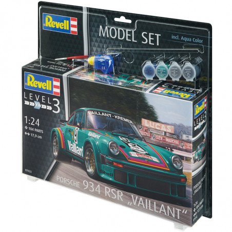 Model Set Porsche 934 RSR Vaillant 1:24