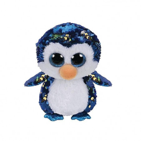 TY Flippables PAYTON-sequin penguin