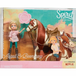 Spirit Collector Doll and Horse Abigail & Boomerang