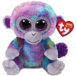 TY Beanie Boos ZURI - multicolored monkey reg.
