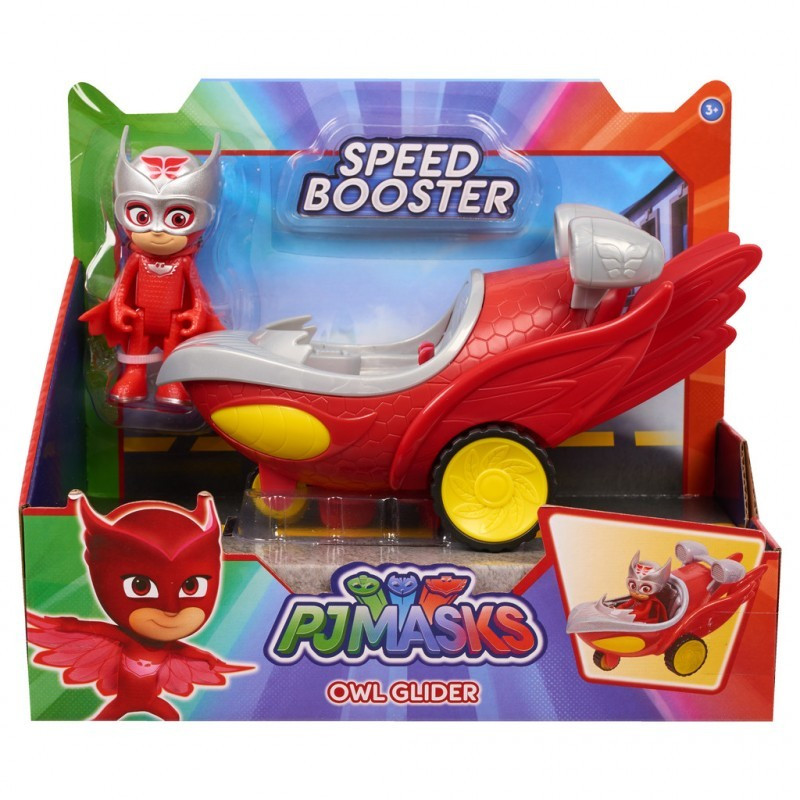 PJ Masks Speed Boosters Vehicles Owl-Glider
