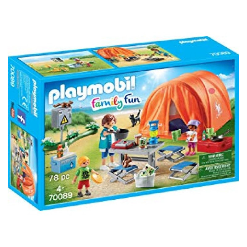 Playmo 70089 Family Camping Trip