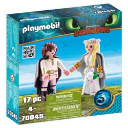 Playmo 70045 Astrid and Hiccup