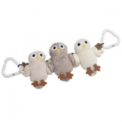 "Vagnsleksak, 3-fig ""Baby Owls"""