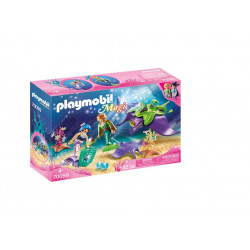 Playmobil 70099 Pearl Collectors with Manta Ray