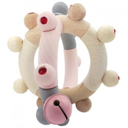 KREA Rattle Ball Rosa
