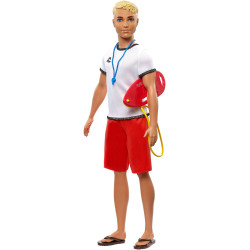 Barbie Ken career doll surf