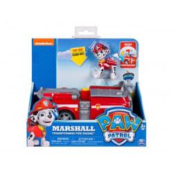 Paw Patrol Basic Vehicle with pup MARSHALL