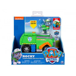 Paw Patrol Basic Vehicle with pup ROCKY