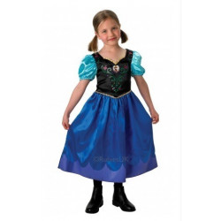 Disney Frozen klänning Anna Classic, medium