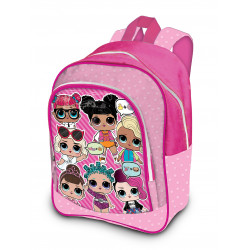 L.O.L SURPRISE! medium backpack PVC-front pocket