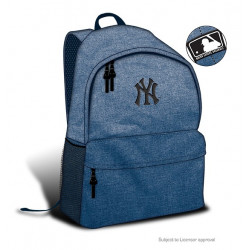 NY YANKEES backpack, premium blue marble