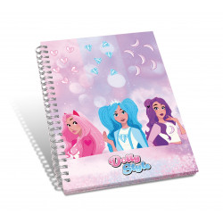 DOLLY STYLE, spiral notebook, 19x25 cm