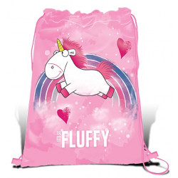 DMF FLUFFY UNICORN gymnastikpåse