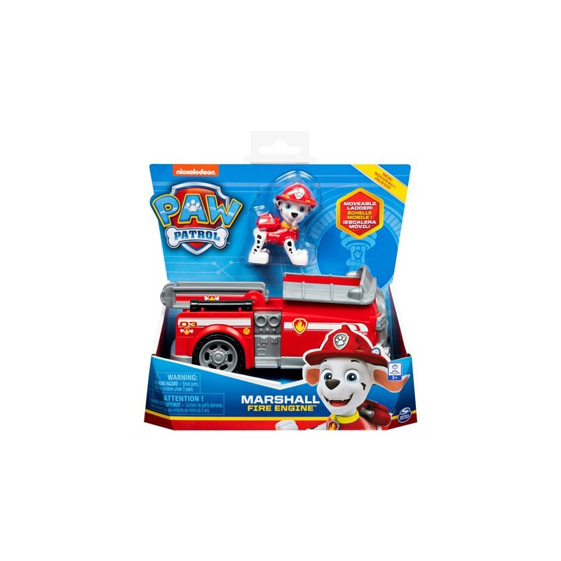 Paw Patrol Basic Vehicles Marshall