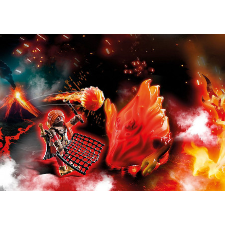 Playmo 70227 Fire Guardian with Ghost