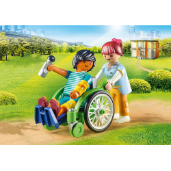 Playmo 70193 Patient in Wheelchair