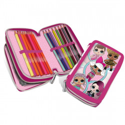 L.O.L Surprise, pencil case double - FILLED