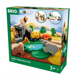 BRIO Safari Adventure Set FSC-100%