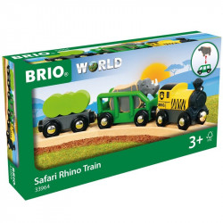 Brio Safari Rhino Train