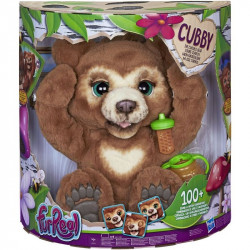 FurReal CUBBY the curious bear