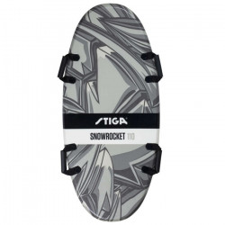 Foamboard Snowrocket Graffiti 110 Black