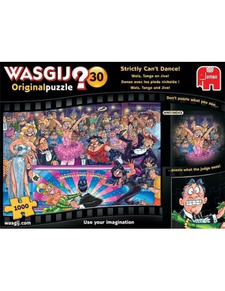 Pussel Wasgij 30 strictly 1000 bit