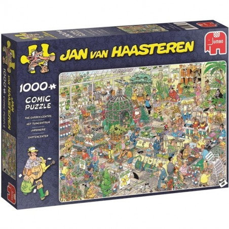 Pussel Jan van Haasteren Garden center 1000 bit