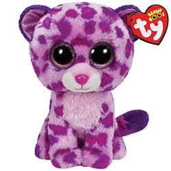 TY GLAMOUR pink leopard Boos regular